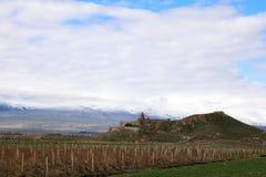 Μοναστήρι Virap Khor στο υποστήριγμα Ararat στην Αρμενία Στοκ εικόνες με δικαίωμα ελεύθερης χρήσης
