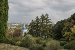 Μοναστήρι Vydubychi στοκ εικόνες