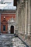Μοναστήρι Vysokopetrovsky στη Μόσχα Στοκ εικόνα με δικαίωμα ελεύθερης χρήσης