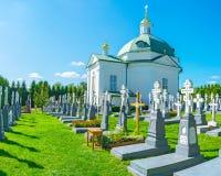 Μοναστικό νεκροταφείο Pochaev Lavra Στοκ Εικόνες