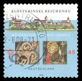 Μοναστικό νησί Reichenau Στοκ Εικόνες