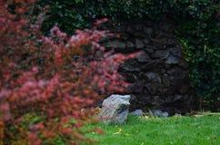 Μοναχικός στον κήπο Στοκ εικόνα με δικαίωμα ελεύθερης χρήσης