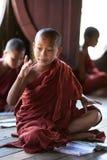 Μοναχοί αρχαρίων, το Μιανμάρ Στοκ Φωτογραφία