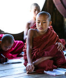 Μοναχοί αρχαρίων, το Μιανμάρ Στοκ Φωτογραφίες