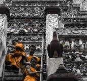 Μοναχοί παιδιών Στοκ Φωτογραφίες