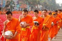 μοναχοί Ταϊλανδός Στοκ Εικόνες