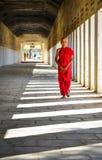 Μοναχός αρχαρίων σε Bagan, το Μιανμάρ Στοκ φωτογραφίες με δικαίωμα ελεύθερης χρήσης