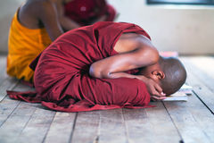 Μοναχός αρχαρίων, το Μιανμάρ Στοκ φωτογραφία με δικαίωμα ελεύθερης χρήσης