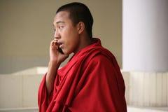 Μοναχός - εκατονταετηρίδας αγορά αγροτών - Thimphu - Μπουτάν Στοκ φωτογραφίες με δικαίωμα ελεύθερης χρήσης