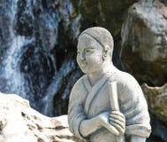 Μοναχός στο ναό Wat Po Στοκ Εικόνες