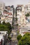 Μοναδικές οδοί του Σαν Φρανσίσκο Στοκ εικόνες με δικαίωμα ελεύθερης χρήσης