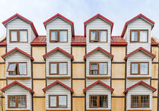 Μοναδική πολυκατοικία σε Ushuaia, Αργεντινή Στοκ Φωτογραφία