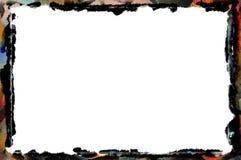 Μοναδικό πολύχρωμο πλαίσιο συνόρων Στοκ φωτογραφία με δικαίωμα ελεύθερης χρήσης