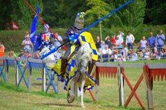 Μονομαχία ιπποτών Στοκ φωτογραφία με δικαίωμα ελεύθερης χρήσης