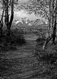 μονοπάτι βουνών Στοκ Φωτογραφία