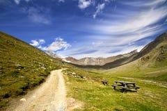 μονοπάτι βουνών στοκ εικόνες με δικαίωμα ελεύθερης χρήσης