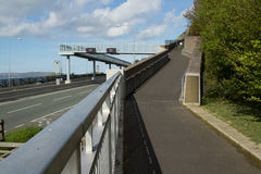 μονοπάτι γεφυρών Στοκ Φωτογραφία