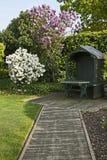 μονοπάτι κήπων επάνω Στοκ φωτογραφία με δικαίωμα ελεύθερης χρήσης