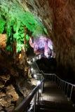μονοπάτι καρστ σπηλιών Στοκ Φωτογραφίες