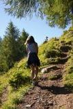 μονοπάτι κοριτσιών Στοκ Φωτογραφίες