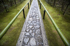 Μονοπάτι ναών Zen Στοκ Εικόνα