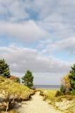 μονοπάτι παραλιών Στοκ Φωτογραφίες