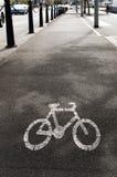 Μονοπάτι ποδηλάτων Στοκ φωτογραφία με δικαίωμα ελεύθερης χρήσης