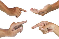 μονοπάτι χεριών ψαλιδίσμα&tau Στοκ Φωτογραφίες