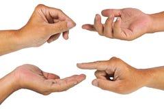 μονοπάτι χεριών ψαλιδίσμα&tau Στοκ Εικόνα