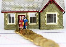 μονοπάτι χρέους Στοκ εικόνα με δικαίωμα ελεύθερης χρήσης