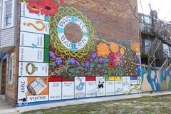 Μονοπωλιακή τοιχογραφία στοκ εικόνες
