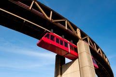 μονοτρόχιος σιδηρόδρομ&omicron Στοκ εικόνες με δικαίωμα ελεύθερης χρήσης