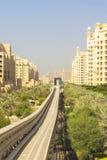 Μονοτρόχιος σιδηρόδρομος στο ξενοδοχείο Atlantis στοκ φωτογραφία με δικαίωμα ελεύθερης χρήσης