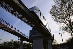 μονοτρόχιος σιδηρόδρομ&omicron Στοκ Φωτογραφίες