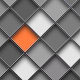Μονοχρωματικά τετραγωνικά κύτταρα Στοκ φωτογραφία με δικαίωμα ελεύθερης χρήσης