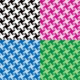 Μονοχρωματικά Twirl σχέδια Στοκ Φωτογραφία