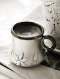 Πίνοντας καφές Στοκ φωτογραφίες με δικαίωμα ελεύθερης χρήσης