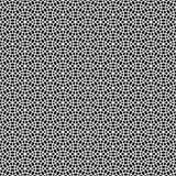 Μονοχρωματικό διακοσμητικό άνευ ραφής διανυσματικό υπόβαθρο σχεδίων σχεδίου Στοκ Εικόνες