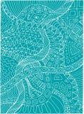 Μονοχρωματικό υπόβαθρο τέχνης γραμμών χρώματος αφηρημένο Στοκ εικόνες με δικαίωμα ελεύθερης χρήσης