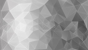 Μονοχρωματικό υπόβαθρο Poligonal επίσης corel σύρετε το διάνυσμα απεικόνισης Στοκ Φωτογραφία