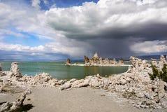 Μονο ηφαιστειακή τέφρα λιμνών, Καλιφόρνια Στοκ φωτογραφίες με δικαίωμα ελεύθερης χρήσης
