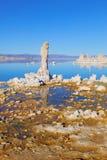 Μονο νότια ηφαιστειακή τέφρα λιμνών Στοκ Εικόνες