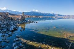 Μονο νότια ηφαιστειακή τέφρα λιμνών Στοκ εικόνες με δικαίωμα ελεύθερης χρήσης