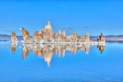 Μονο νότια ηφαιστειακή τέφρα λιμνών Στοκ φωτογραφίες με δικαίωμα ελεύθερης χρήσης