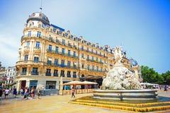 Μονπελιέ, Γαλλία στοκ φωτογραφία