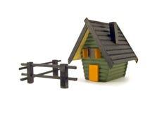 μοντέλο εδάφους σπιτιών Στοκ Φωτογραφίες