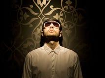 Μοντέλο με τα γυαλιά ηλίου Στοκ Εικόνες