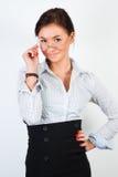 Μοντέλο με τα γυαλιά στοκ φωτογραφίες με δικαίωμα ελεύθερης χρήσης