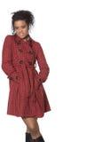 Μοντέλο μόδας αφροαμερικάνων Στοκ Εικόνα