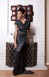 Μοντέλο μόδας εκτός από την εστία στοκ φωτογραφίες